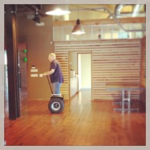 Scott and the Segway